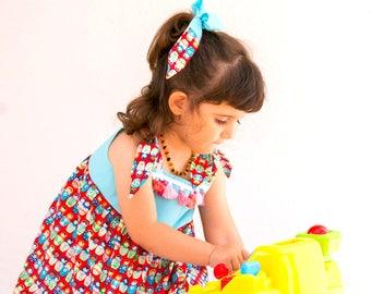 Baby Cute Dress Baby Birthday Dress Toddler Boutique Dress Cute Girls Dress Girls Fall Clothing Toddler Dress Fall Dress and Headband