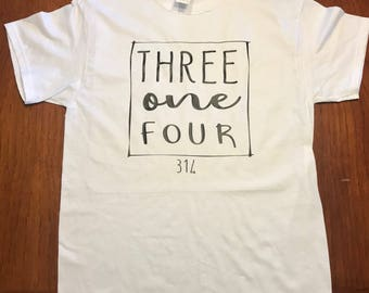 Area code t-shirts