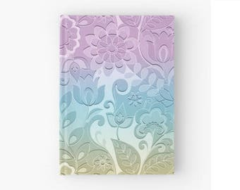 Pastel Journal Notebook, Hardcover Journal, Sketchbook, Hardcover Notebook, Blank Page Journal