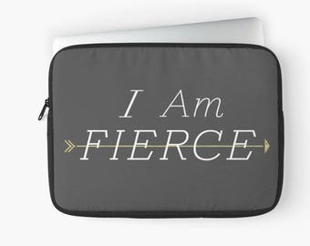 Fierce, Black, Macbook Sleeve, Macbook Pro Case, Macbook Pro, Macbook Case, Macbook Air, Laptop Sleeve, Arrows, Cute