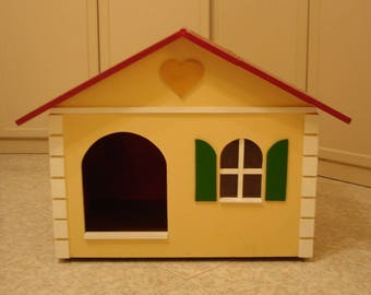 Wooden kennel Doghouse for dogs or cats