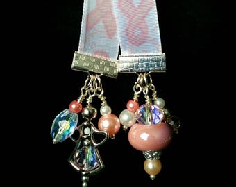 Breast Cancer Awareness Angel Bookmark