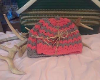 Mom and Me Messy Bun Hat Set