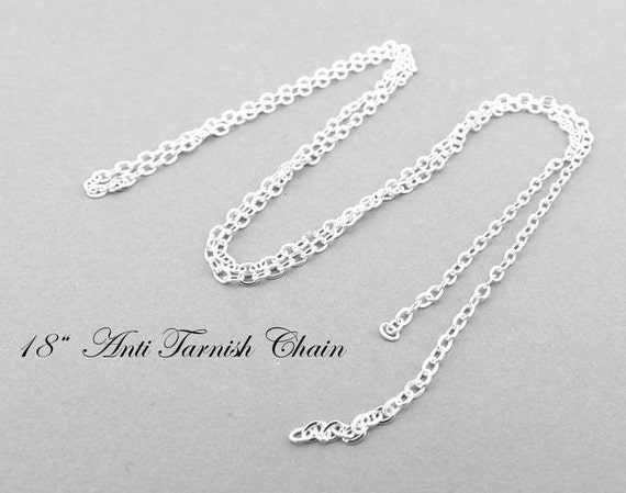 Chains .925 Sterling Silver 0.80MM Box Link Necklace 18