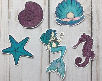Mermaid Die Cuts