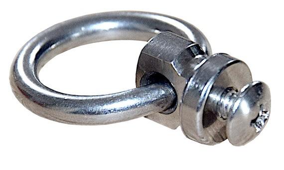 O-ring Tasche Verschluss Ring Schraube Zubehör Kette DIY Basteln Stud Screw