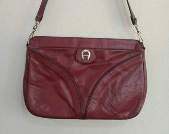 Vintage Etienne Aigner Leather Shoulder Bags fcdd420c5009b