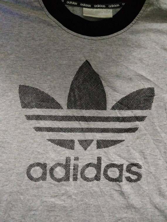 Sale Vintage Adidas Big Logo T Shirt