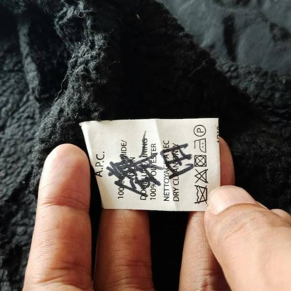 A.P.C. noir couleur fermeture éclair gilet gilet éclair taille S Small a62a7e