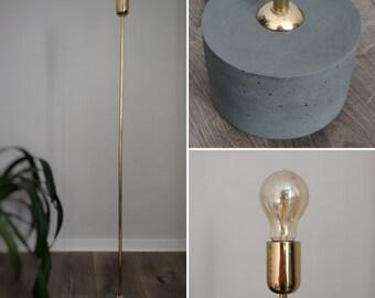 Gemeinsame Stehlampe beton   Etsy @DX_46