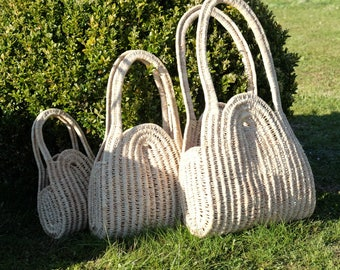 Wicker bag baskets