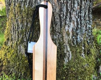 Spanking Paddle, OTK Paddle, Wood Paddle, Laminated Wood