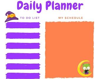 Halloween Daily Planner