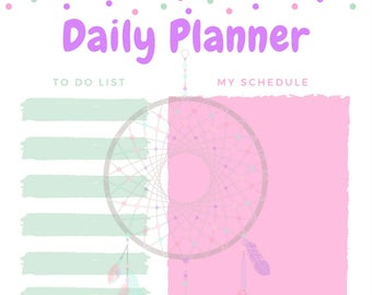 Dream Catching Daily Planner