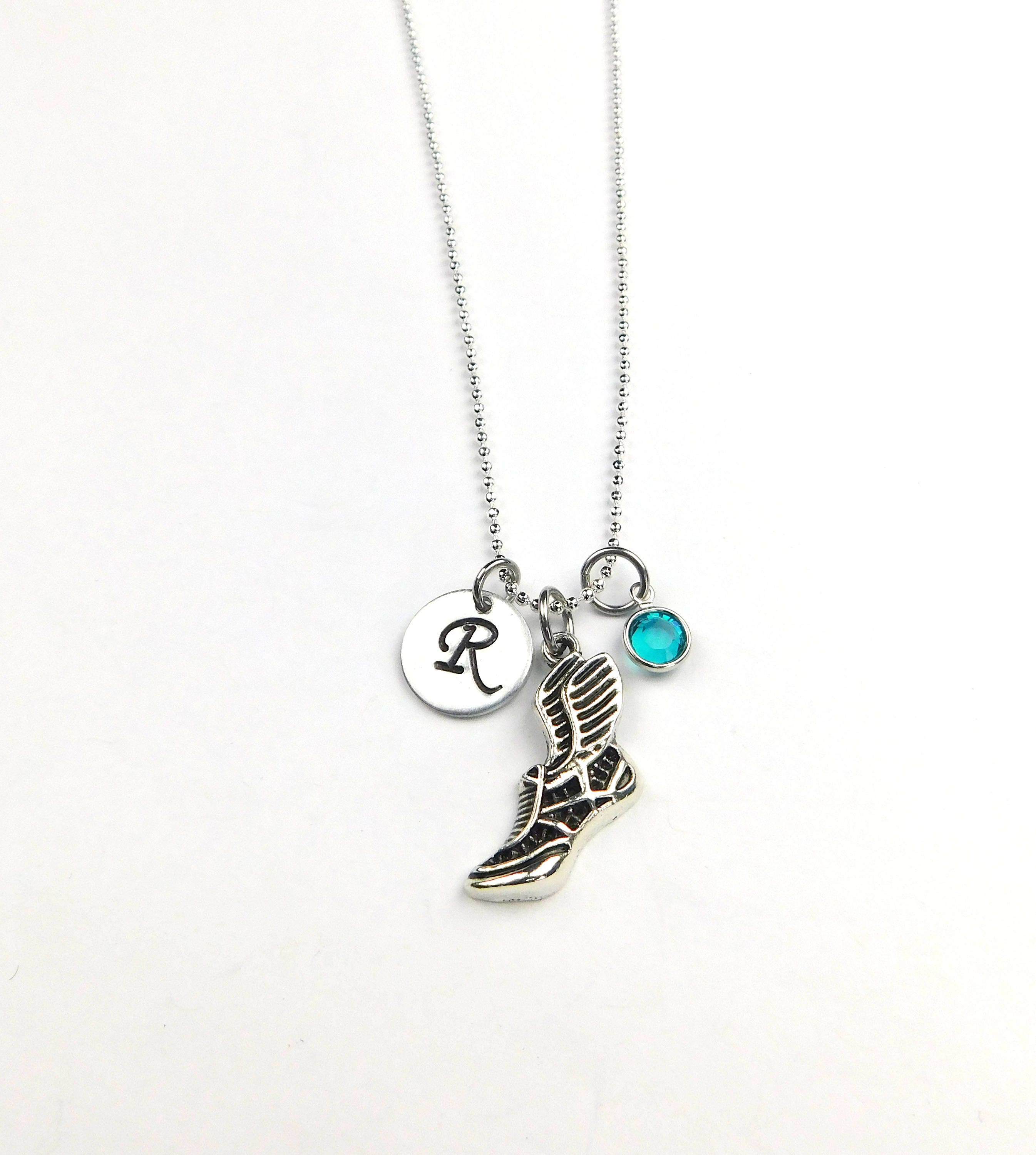 Running Necklace Runner s NecklaceRunning Shoe Necklace  22f185bc69