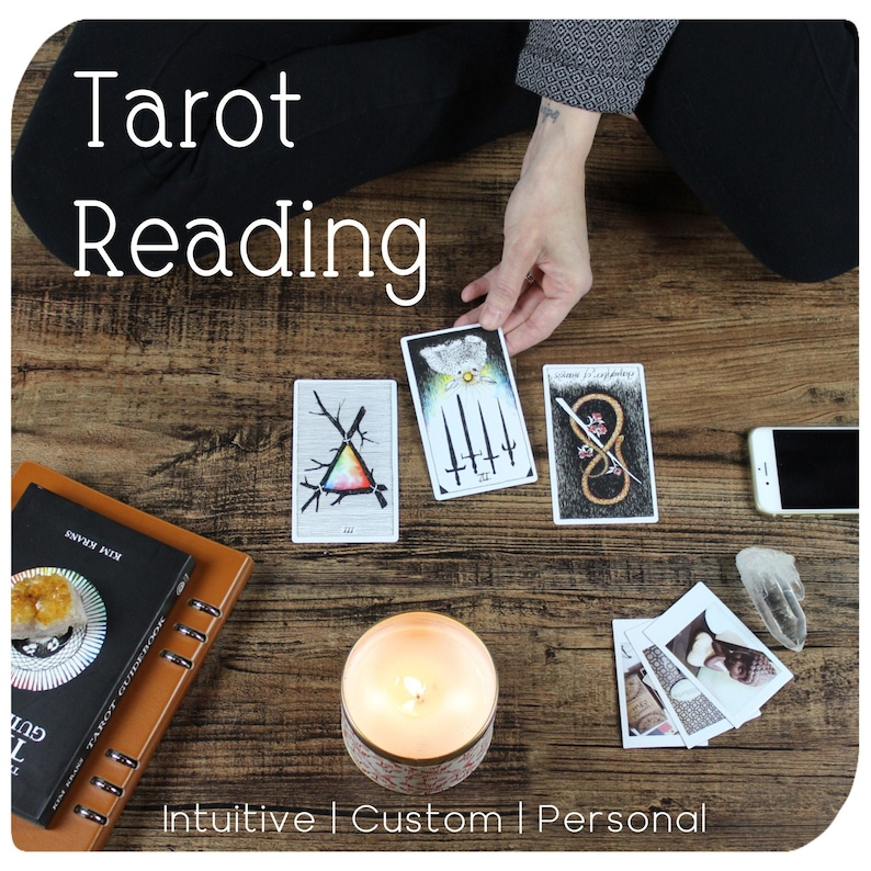 Custom Tarot Reading  Select Number of Tarot Cards  Any Type image 0