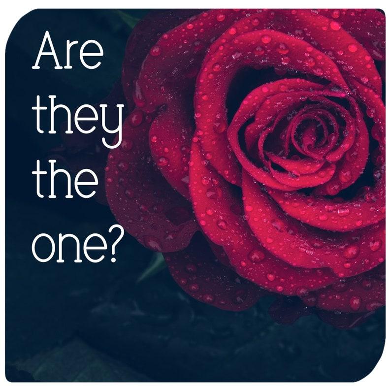 True Love Tarot Reading  Is he/she the one  Romance Tarot image 0