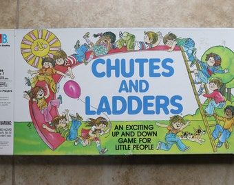 Chutes And Ladders Board Game Milton Bradley 1979