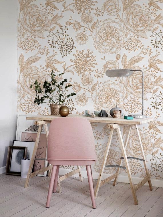 Removable Wallpaper Tropical Wallpaper A631 Peel and Stick Wallpaper Wall Paper Removable Boho Wall Mural Removable Wallpaper