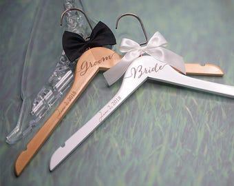 Bridesmaid Dress Hanger, Wedding Hanger Engraved, Bridal Hanger, Dress Hanger, Personalized Hanger, Bridal Shower Gift, Gift for Bridesmaids