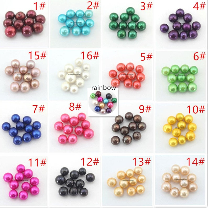 Rainbow Colored Round Edison Pearl Oyster-ADMIX6 10 PCS Akoya Oysters With Edison Pearl Inside Twins 9-12mm AAA