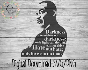 Download Martin luther king svg | Etsy