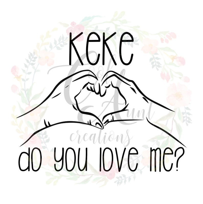 Kiki Do You Love Me Free Mp3 Download: KeKe Do You Love Me / SVG / PNG / Digital Download