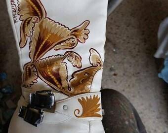 Donna Slouch Slouch Slouch Stivali   Etsy SE 873b5f