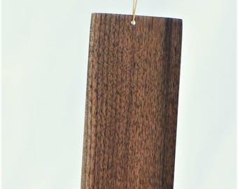 Reclaimed Walnut Hanging Modern Art