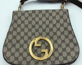 3178b06cbc3 Rare Gucci Blondie Vintage VTG 70 s Monogram Bag GG