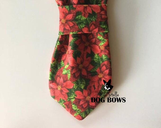 Poinsettia Necktie