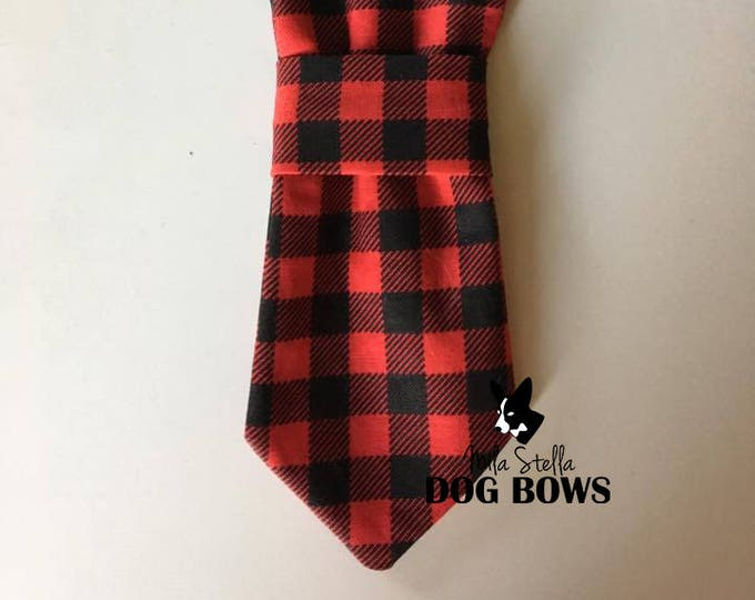 Buffalo Plaid Necktie
