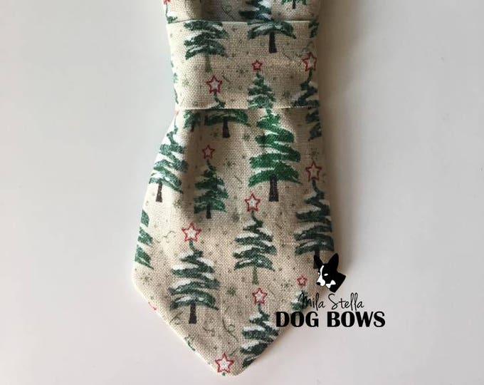 Christmas Tree Necktie
