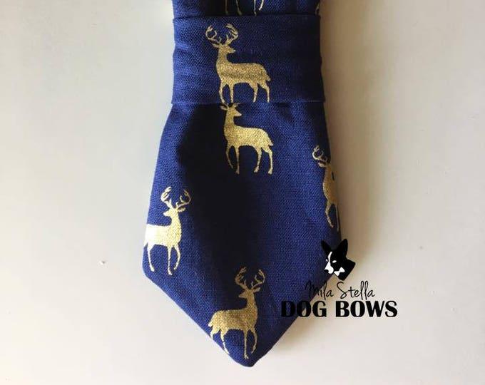 Reindeer Necktie