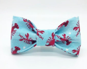 Lobsters Dog Bowtie