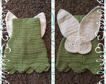 Tinker bell crochet outfit
