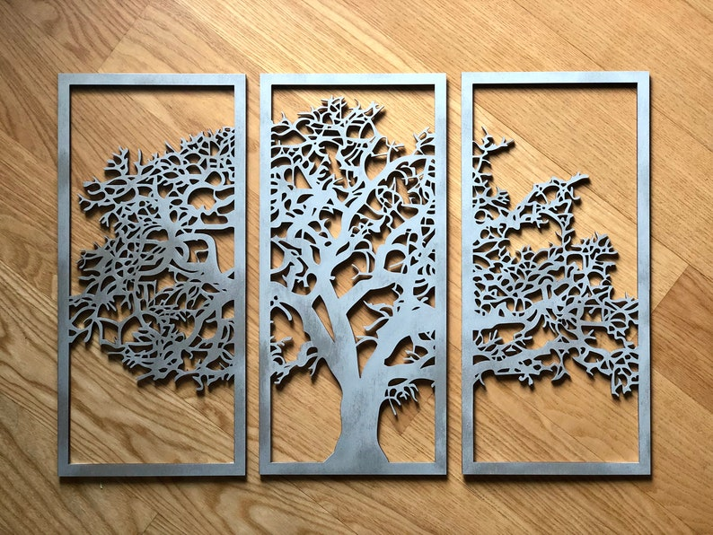 Large Tree Of Life Wall Art Wood Wall Art Decor Wall Picture Openwork Wall Decor Ornament Living Room Decorative Wooden Wall Panel
