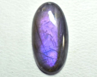 Purple Labradorite Rectangle Cabochons For Jewelry Making,30X21mm,40.50cts...@2341
