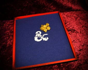 Dice Tray for RPG'S including//DungeonsandDragons//Pathfinder//CallofCthulhu//Wallhammer//magicthegathering