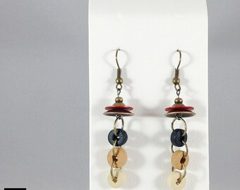 Hanging Circles Earrings