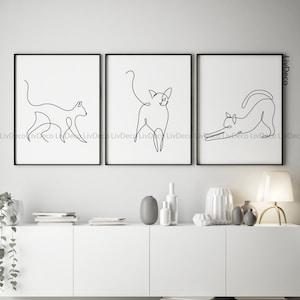 Home Decor Digital Cat Prints Kitchen Art Downloadable Cat Print Cat Mountain Cat Printable Wall Art Kitchen Decor Cat Print