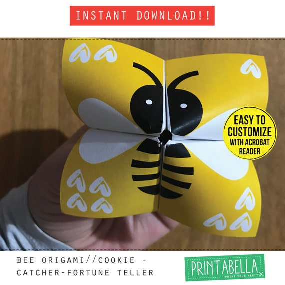 Make a Cootie Catcher (Origami Fortune Teller)   Open when ...   570x570