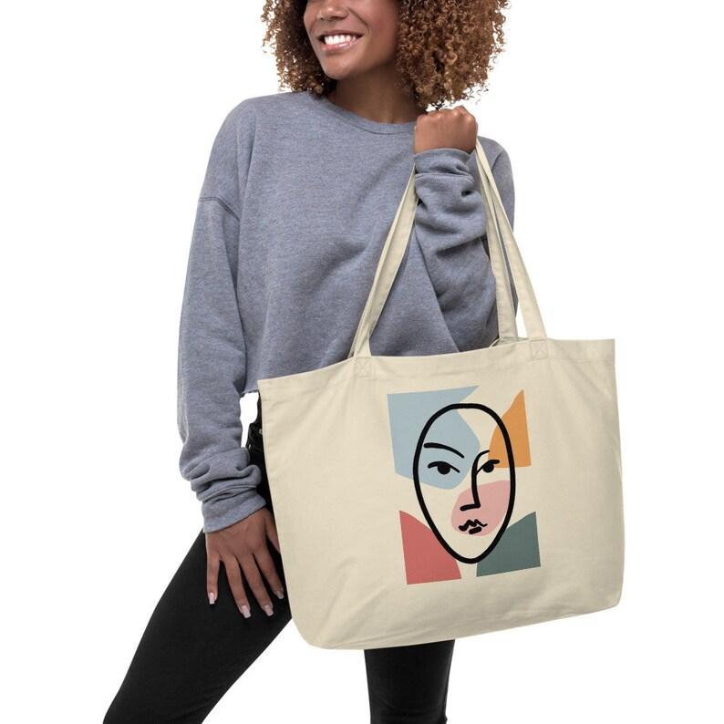 Gift Bag Vintage Art Ladies Bag Matisse Art Bag Picasso Art Bag Eco Cotton Big Tote Pinterest Art Tote Bag Grocery Bag