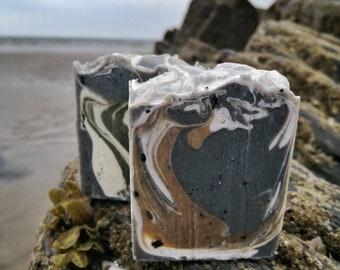 Vegan Welsh Sea Kelp & Indigo Soap