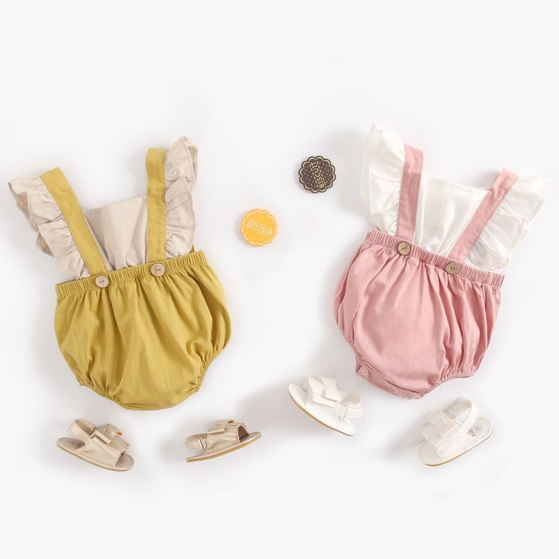 FREE SHIPPING Baby girl clothes baby girl romper baby girl outfits toddler romper baby romper for girls romper boho romper baby girl gift