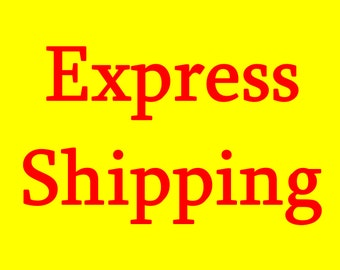 Express Shipping upgrade For USA EU Australia, Cut your shipping time to 5 Business days
