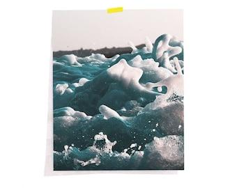 Water print, Ocean print, Ocean water print, Ocean wall art, Ocean photography, Ocean waves print, sea print, Printable art