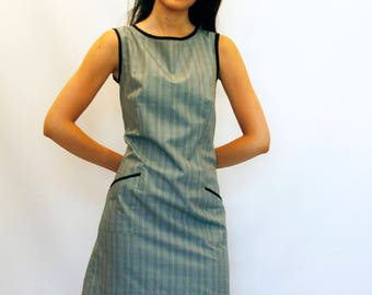 1960's inspired mod style dress