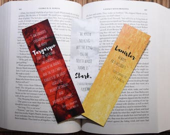 Game of Thrones Bookmark