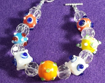 Funky Chunky Multi-Color Bracelet